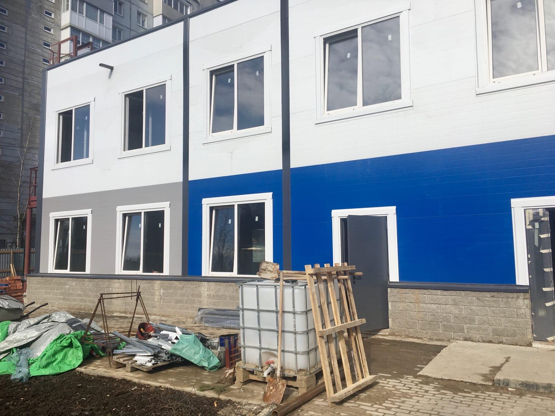 Строительство дома молодежи п. Сертолово