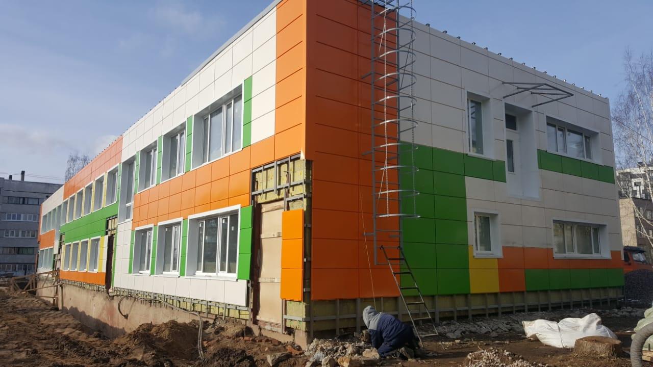 Капитальный ремонт детского сада  д. Колтуши