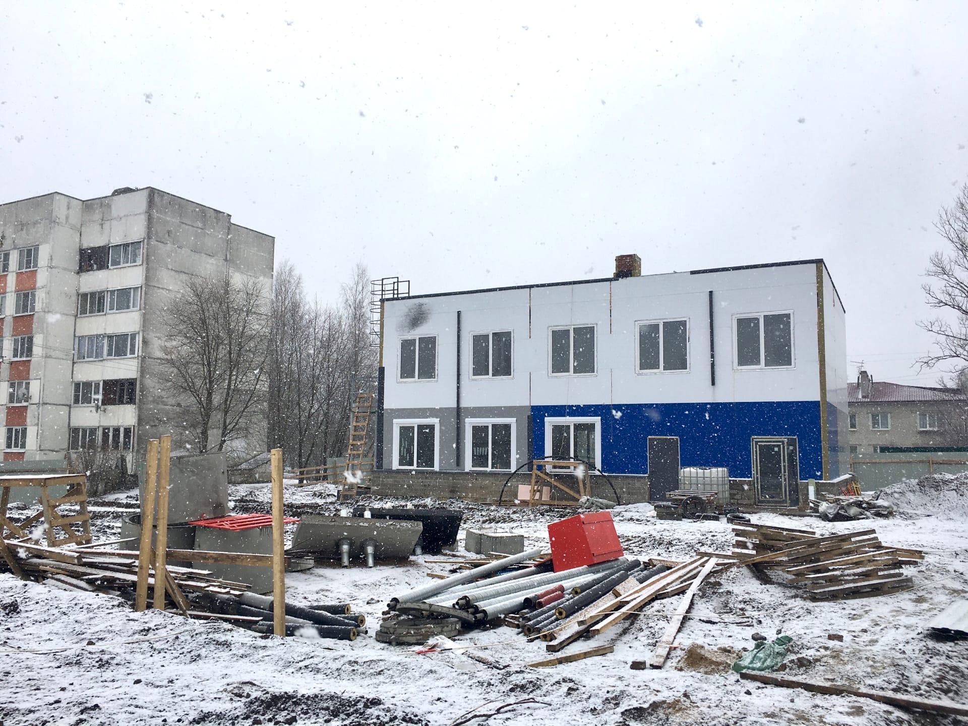 Строительство дома молодежи п. Щеглово